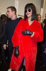 RIHANNA At Christian Dior Fashion Show in Paris