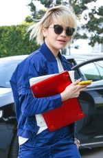 RITA ORA Arrives at a Business Meeting in Beverly Hills
