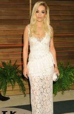 RITA ORA at Vanity Fair Oscar Party in Hollywood