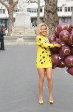 RITA ORA Promotes Her New Single in London