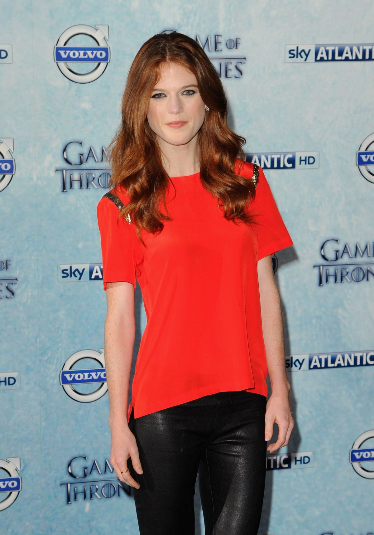 ROSE LESLIE at Game of Thrones Fourth Season Premiere in ...