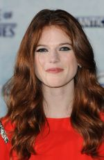 ROSE LESLIE at Game of Thrones Fourth Season Premiere in London