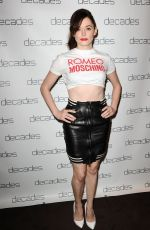 ROSE MCGOWAN at Decades Les Must De Moschino Event in Los Angeles