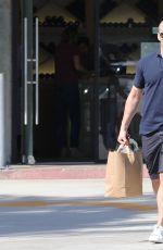 ROSIE HUNTINGTON-WHITELEY and Jason Statham Out in Malibu