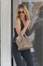ROSIE HUNTINGTON-WHITELEY Leaves Ballet Bodies in West Hollywood