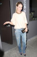 ROSIE HUNTINGTON-WHITELEY Leaves Crossroads Reataurant in West Hollywood