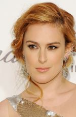 RUMER WILLIS at Elton John Aids Foundation Oscar Party in Los Angeles
