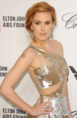 RUMER WILLIS at Elton John Aids Foundation Oscar Party in Los Angeles