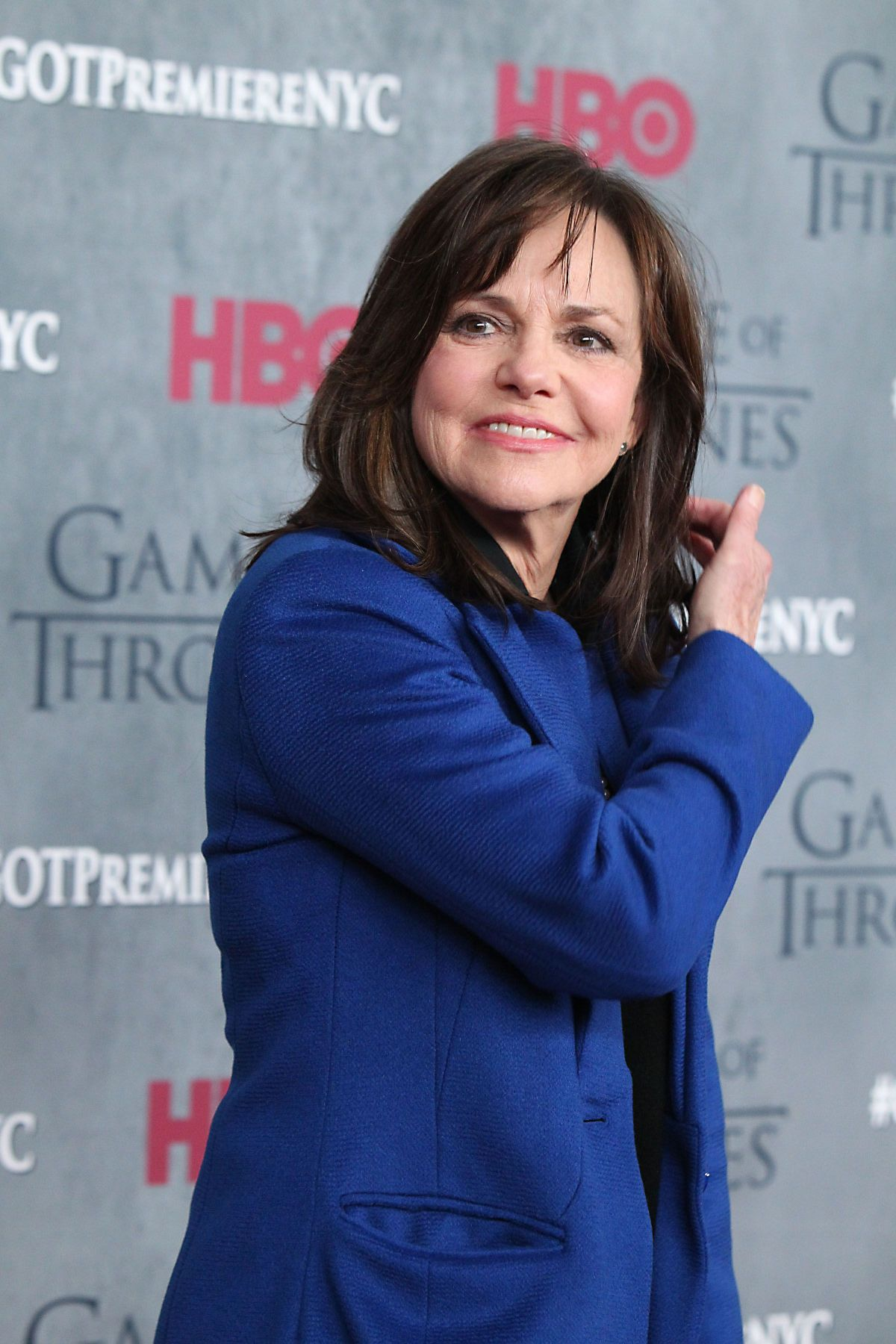 SALLY FIELD at Game of Thrones Fourth Season Premiere in New York