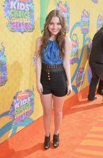 SAMMI HANRATTY at 2014 Nickelodeon's Kids' Choice Awards in Los Angeles