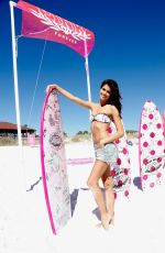 SARA SAMPAIO at Pink Nation Spring Break Beach Party in Destin