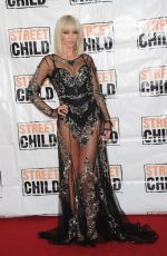 SARAH HARDING at Street child 5th Anniversary Party in London