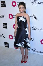 SARAH HYLAND at Elton John Aids Foundation Oscar Party in Los Angeles