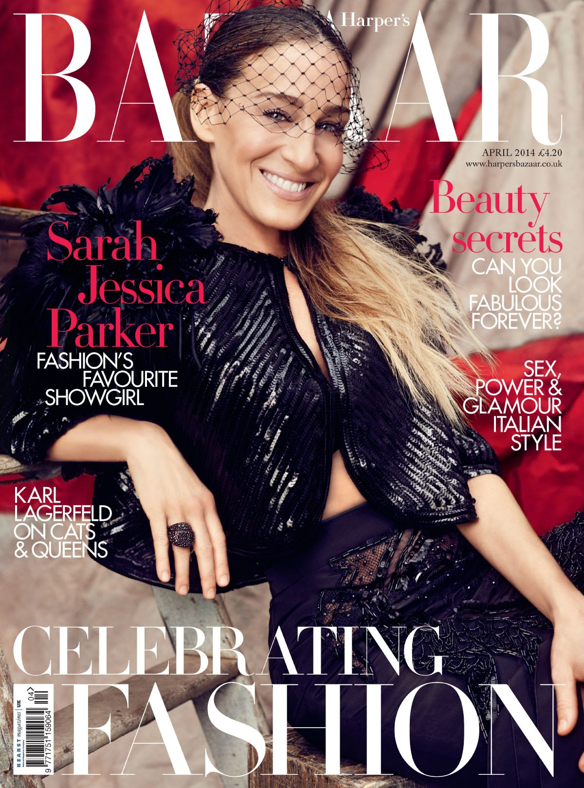 SARAH JESSICA PARKER on the Cover of Harper