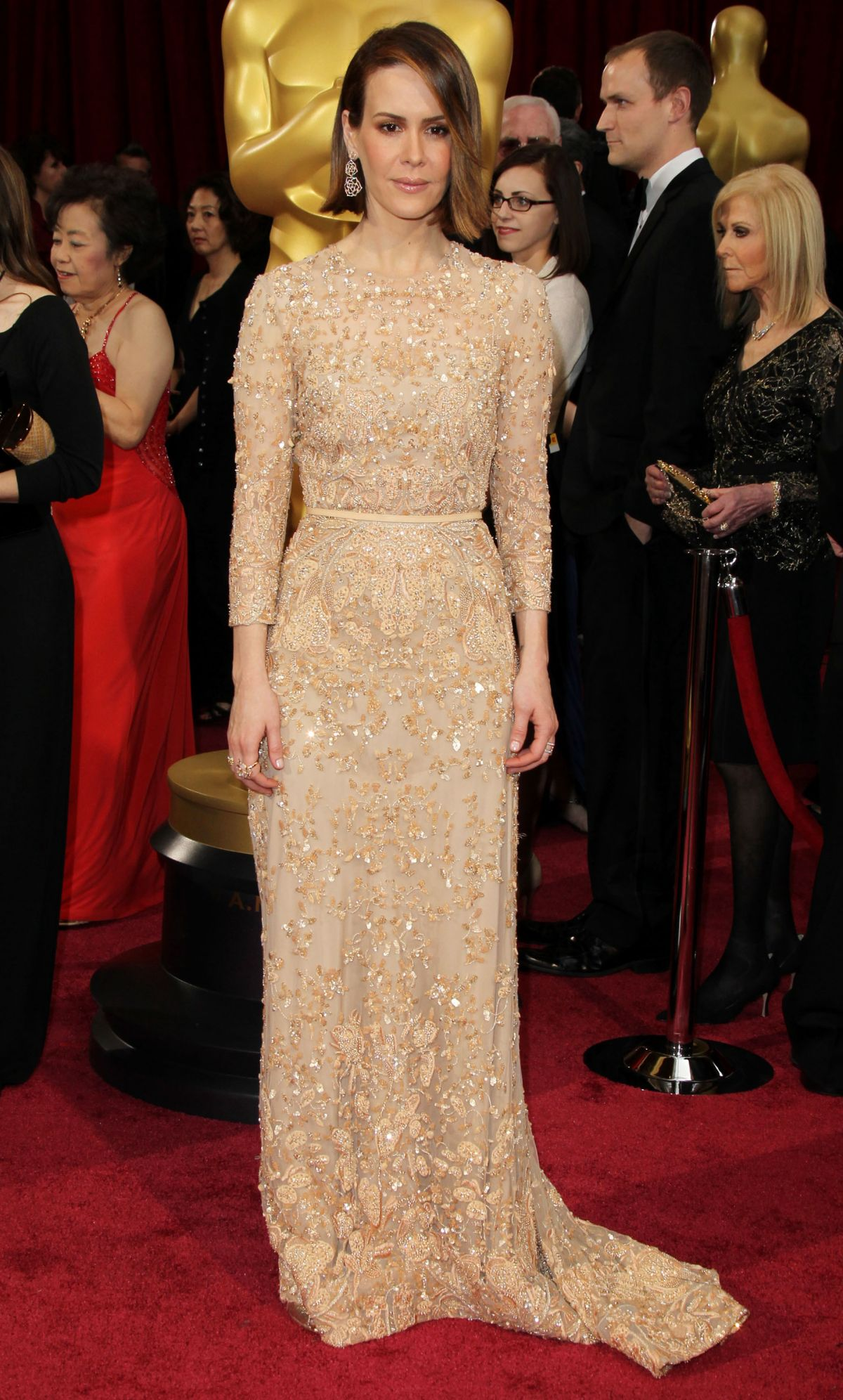SARAH PAULSON at 86th Annual Academy Awards in Hollywood