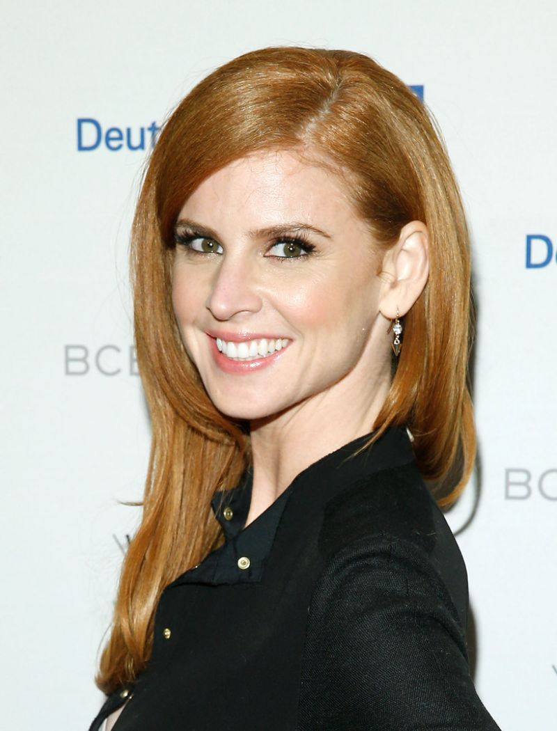 Sarah rafferty at whitney biennial opening night party in new york