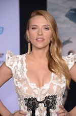 SCARLETT JOHANSSON at Captain America: The Winter Soldier Premiere in Hollywood