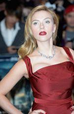 SCARLETT JOHANSSON at Captain America: The Winter Soldier Premiere in London