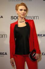 SCARLETT JOHANSSON at Captain America: The Winter Soldier Premiere in Paris