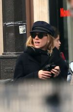 SCARLETT JOHANSSON Out and About in Paris