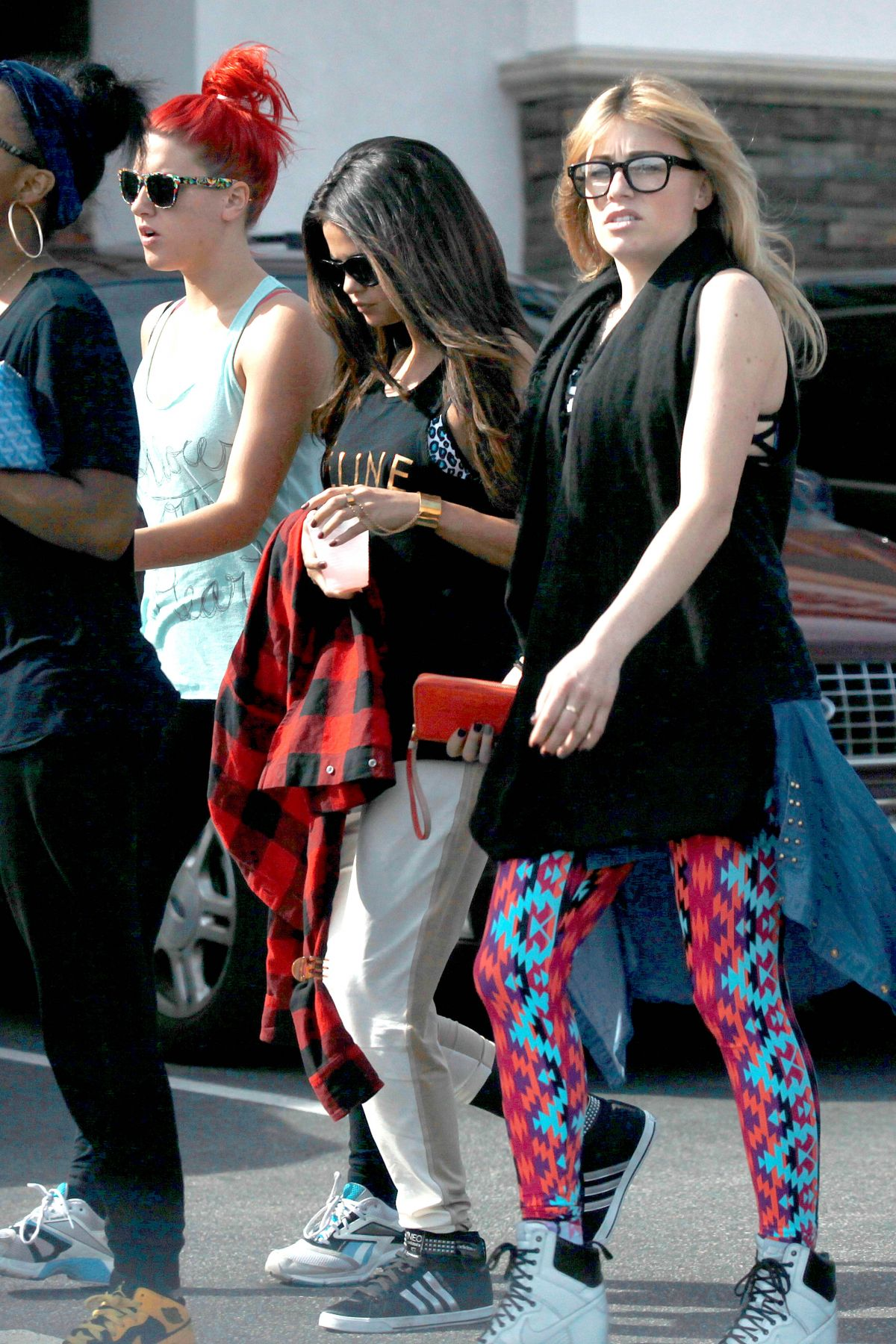 SELENA GOMEZ Leaves Sansai Grill in Burbank