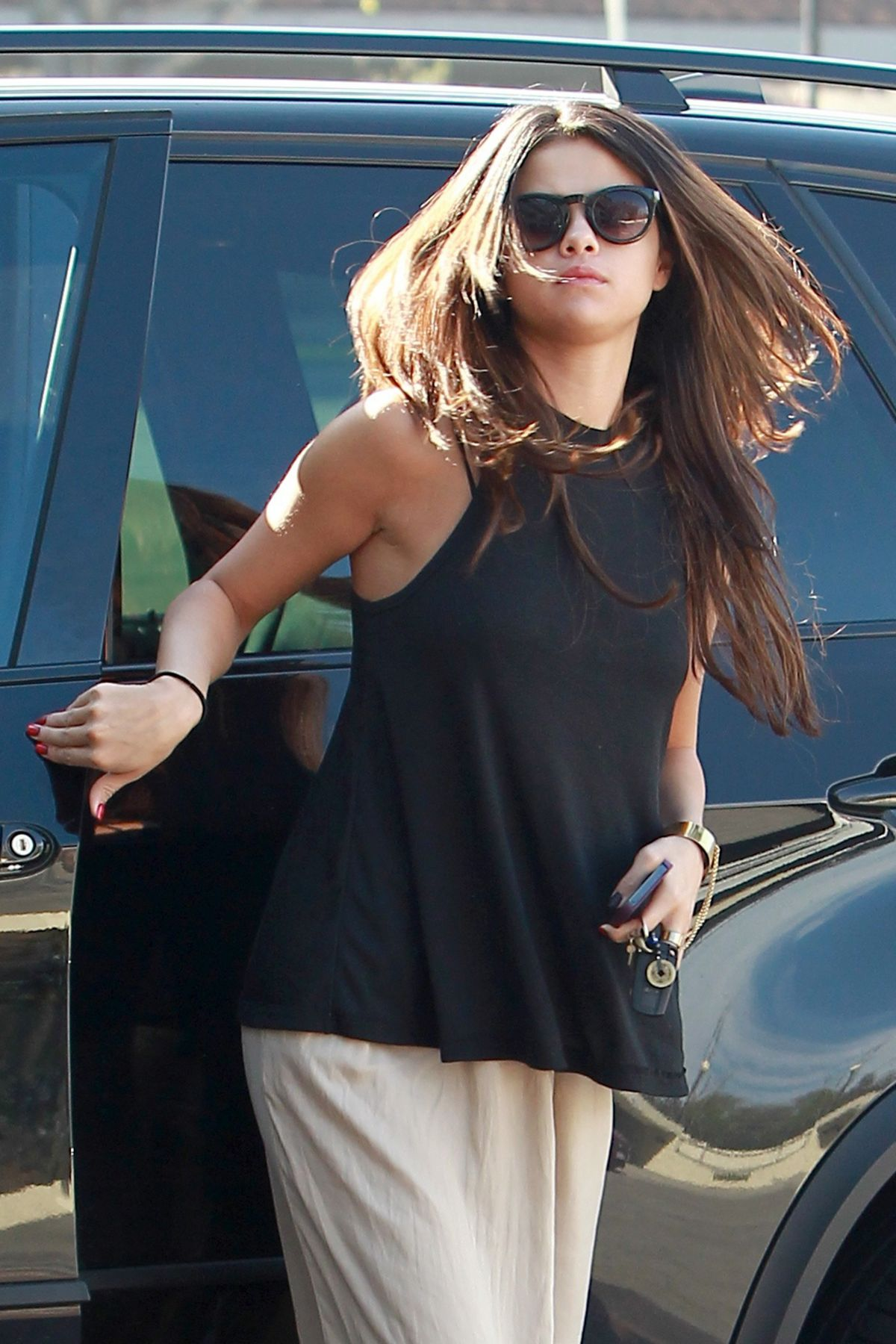 SELENA GOMEZ Out and About in Los Angeles 0305