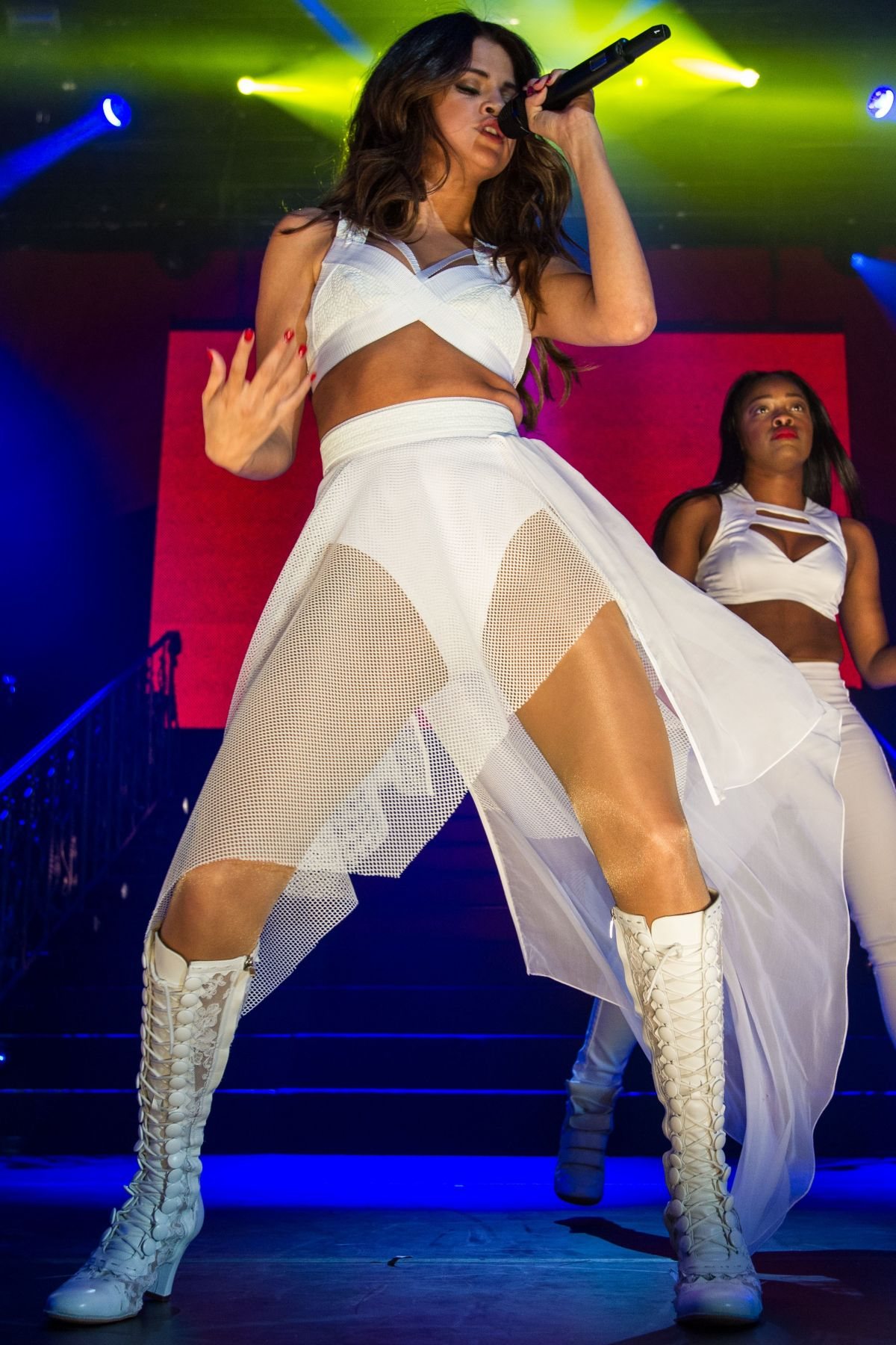 SELENA GOMEZ Performs at 2014 Borderfest in Hidalgo