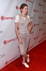 SHAILENE WOODLEY at 20th Century Fox Special Presentation in Las Vegas
