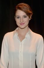 SHAILENE WOODLEY at Cinemacon Big Screen Achievement Awards in Las Vegas