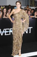 SHAILENE WOODLEY at Divergent Premiere in Los Angeles