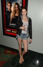 SHAILENE WOODLEY at Divergent Private Screening in Thousand Oaks