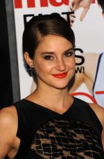 SHAILENE WOODLEY at Marie Claire and Cinema Society Host Divergent Screening in New York