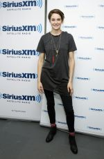 SHAILENE WOODLEY at SiriusXM Studio in New York