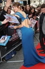 SHAILENE WOODLEY - Divergent Premiere in London