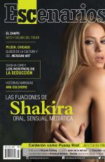 SHAKIRA in Escenarios Magazine, April 2014 Issue