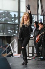 SHAKIRA Performs at Today Show in New York