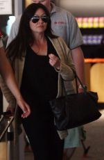 SHANNEN DOHERTY at Airport in Sydney
