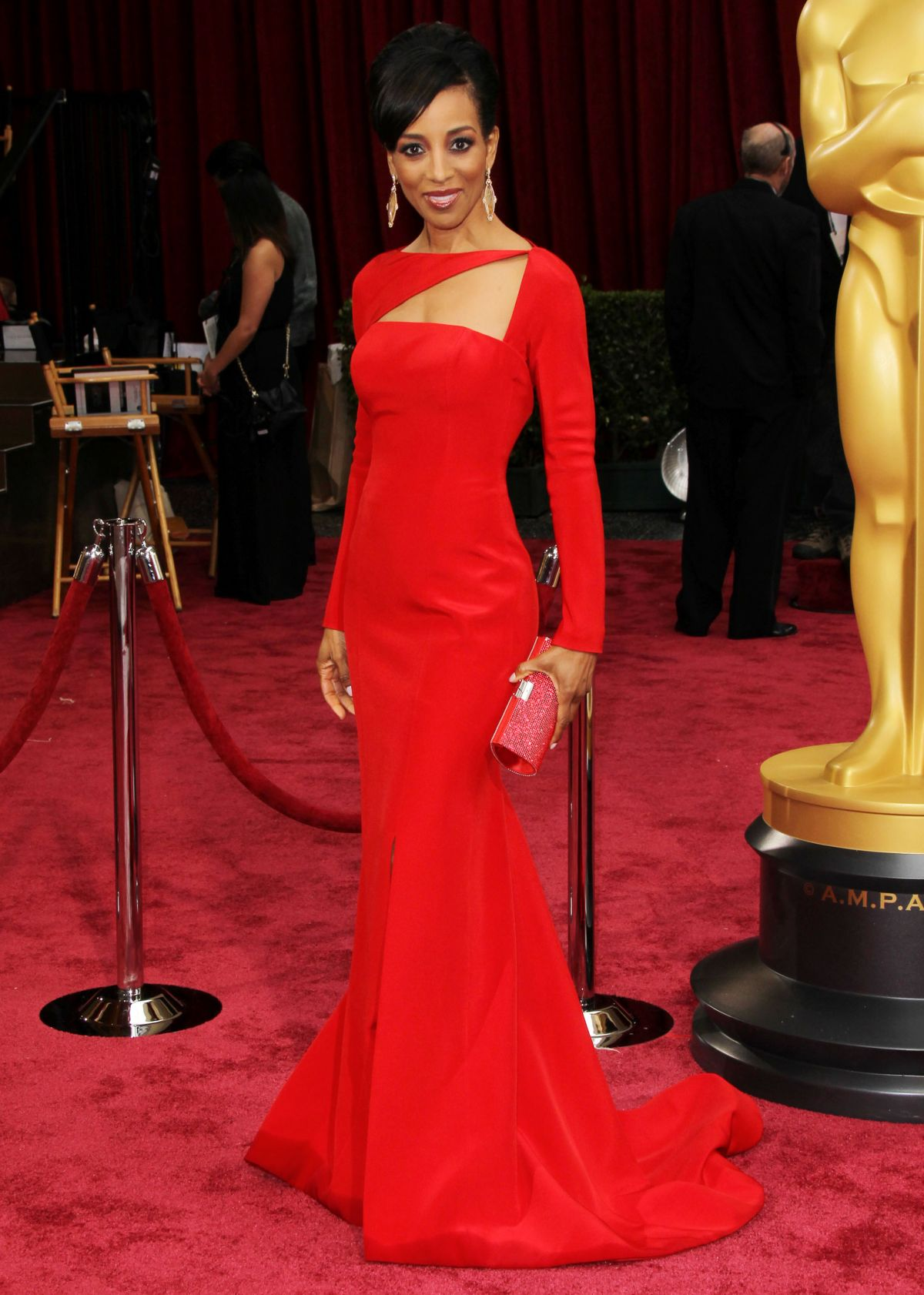 SHAUN ROBINSON at 86th Annual Academy Awards in Hollywood