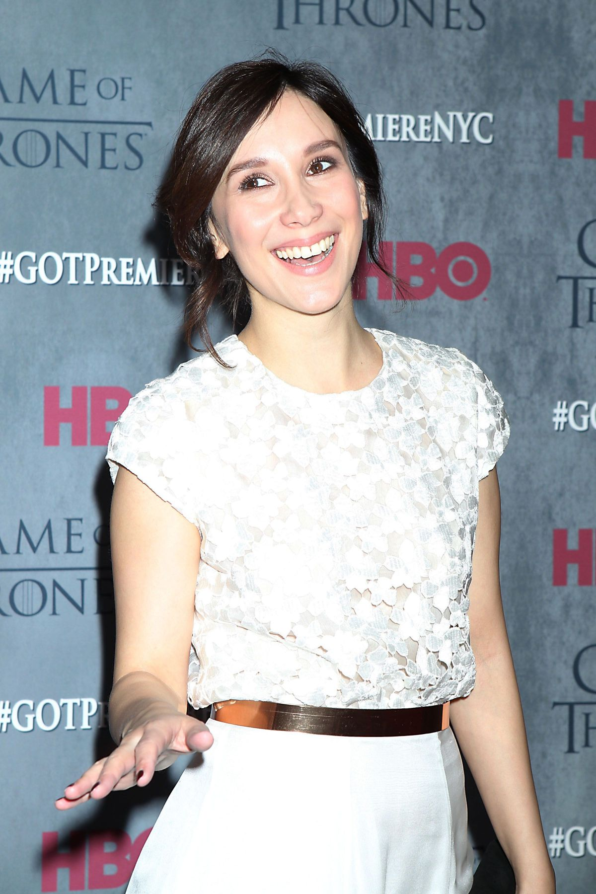 SIBEL KEKILLI at Game of Thrones Fourth Season Premiere in New York