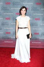 SIBEL KEKILLI at Game of Thrones Fourth Season Premiere in New York