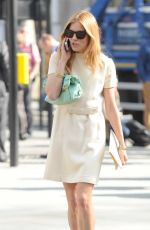 SIENNA MILLER Arrives at Westminster Abbey
