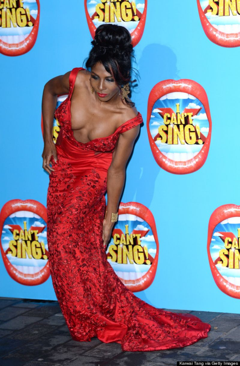SINITTA at I Can't Sing! The X Factor Musical Press Night in London