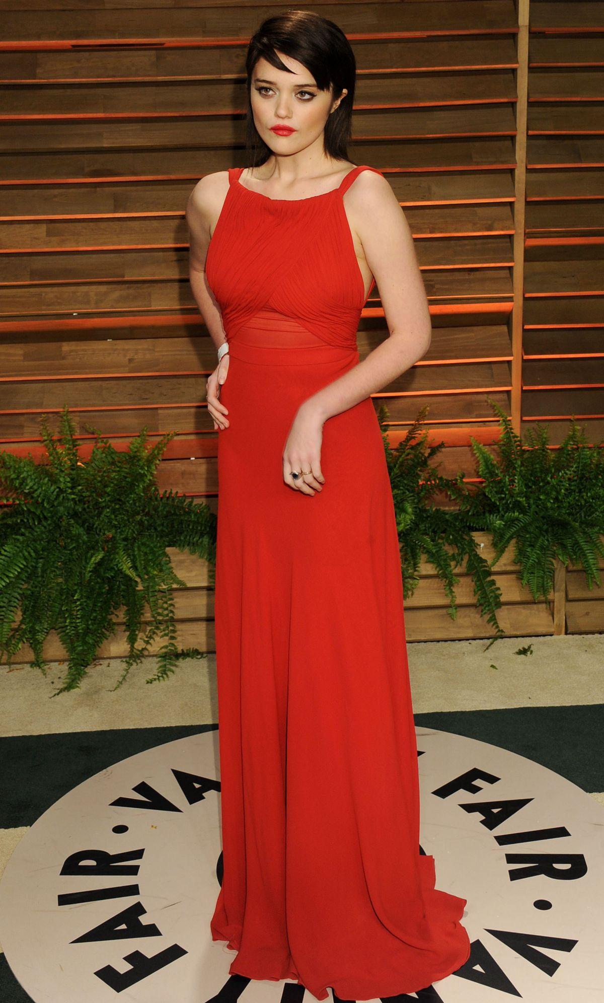 SKY FERREIRA at Vanity Fair Oscar Party in Hollywood