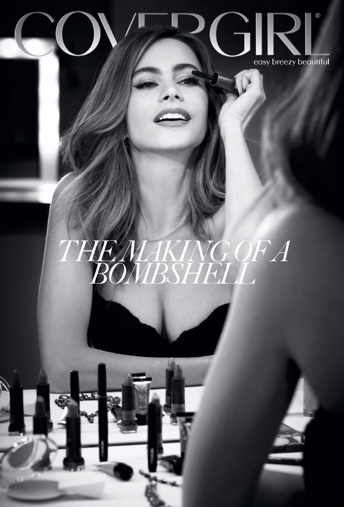 SOFIA VERGARA - Covergirl - 2013/2014 Campaign