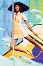SOLANGE KNOWLES in Harper's Bazaar Magazine, April 2014 Issue