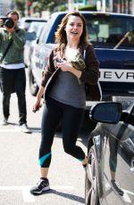 SOPHIA BUSH in Leggings Out in West Hollywood