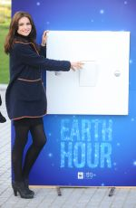 SOPHIE ELLIS BEXTOR at WWFS Global Switch-off Earth Hour in London