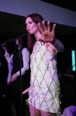 SOPHIE ELLIS-BEXTOR Performs at WWF Earth Hour in London