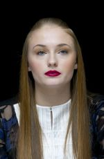 SOPHIE TURNER at Game of Thrones Season 4 Press Conference