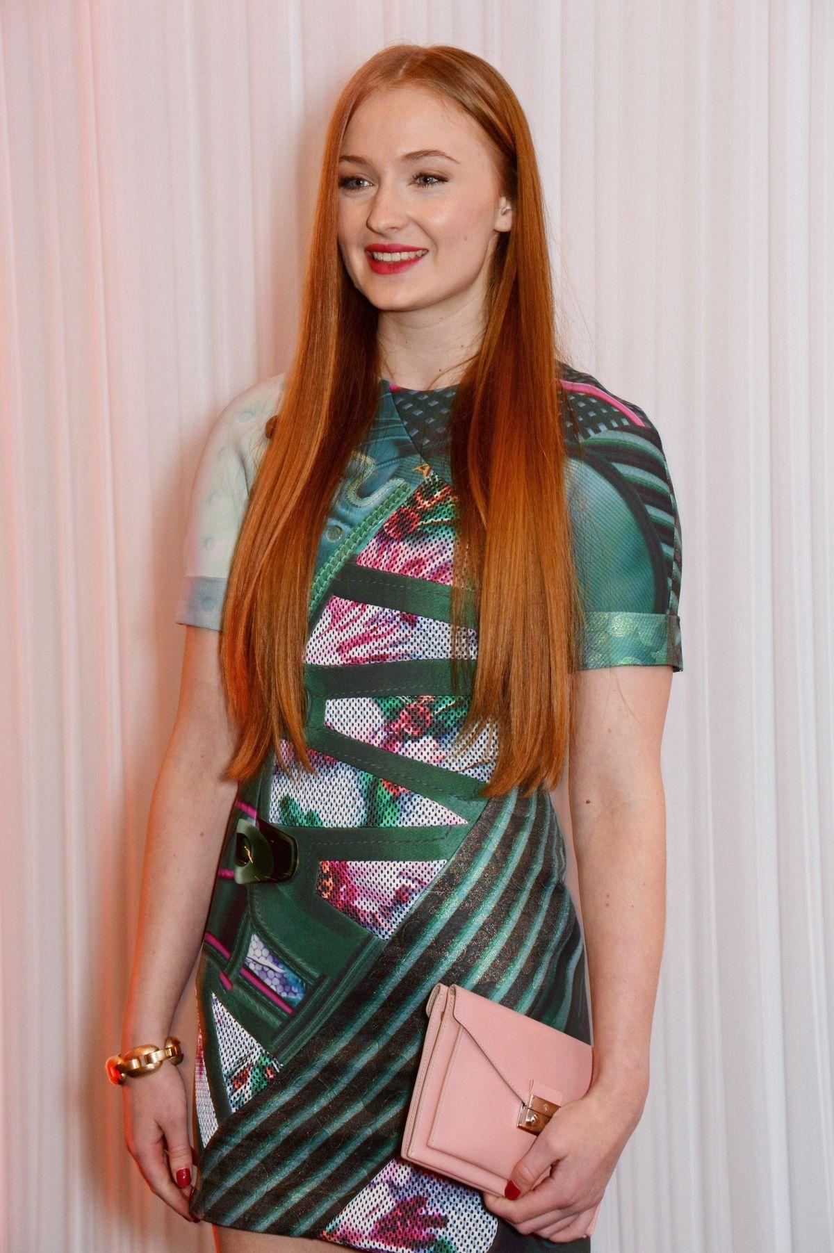 SOPHIE TURNER at Jameson Empire Awards in London